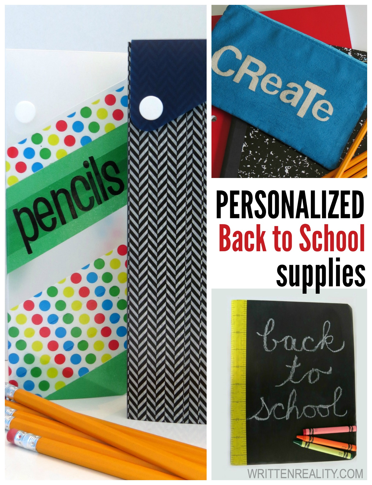 Personalized Back to School Supplies