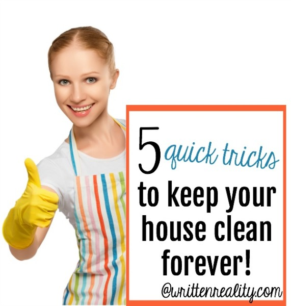 5 Quick Tricks to Keep Your House Clean