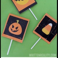Halloween Treat Wrappers