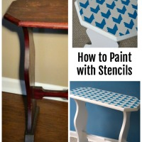 Paint with Stencils