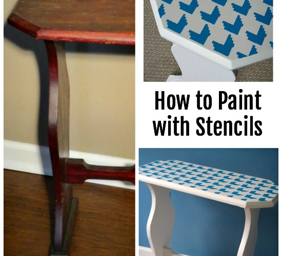 How to Paint with Stencils
