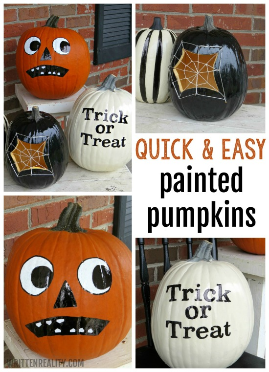 Painted Pumpkins Ideas