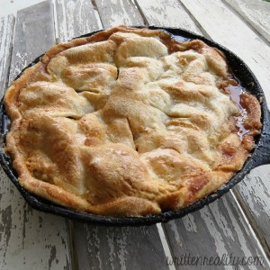 Easy Skillet Apple Pie Recipe