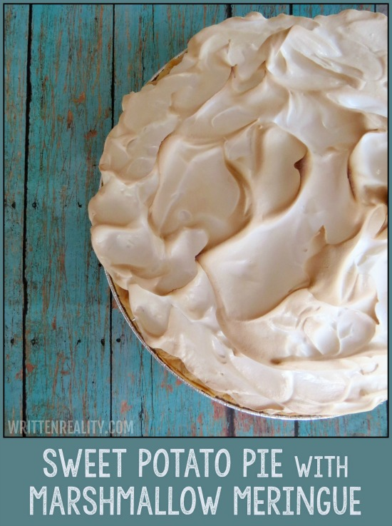 baking sweet potato pie for years, along with a marshmallow meringue ...
