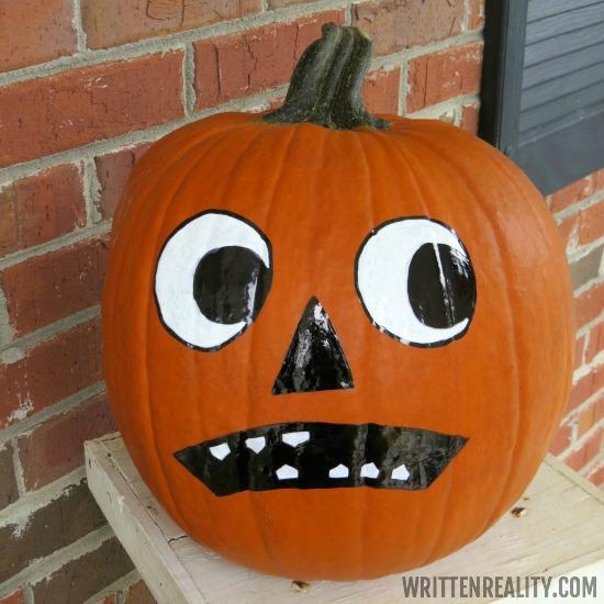 Vintage Face Pumpkin