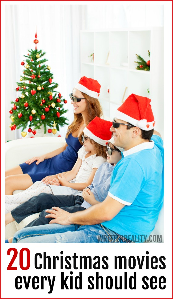 Kid christmas movies written reality for Best christmas movies for toddlers