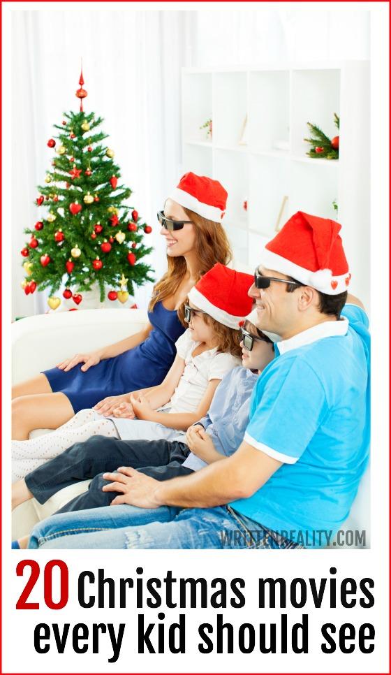 Kid Christmas Movies Written Reality