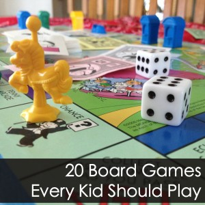 20 Board Games Every Kid Should Play