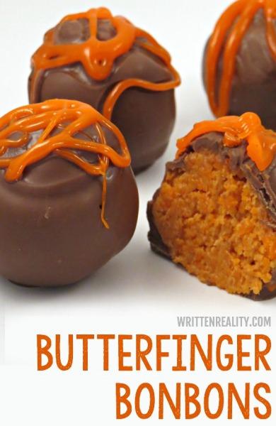 Homemade Butterfinger Bonbons recipe