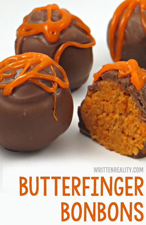 Homemade Butterfinger Bonbons recipe