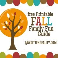 Fall Family Fun Printable