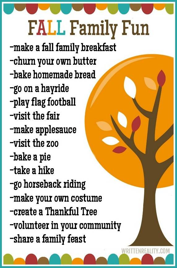 Fall Family Fun Guide
