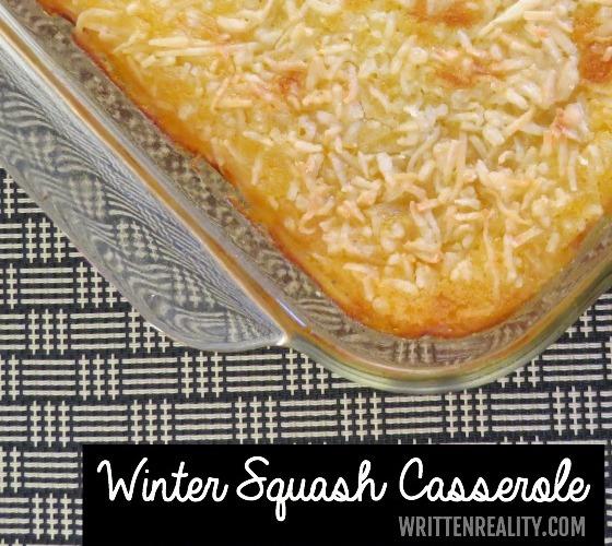 Winter Squash Casserole