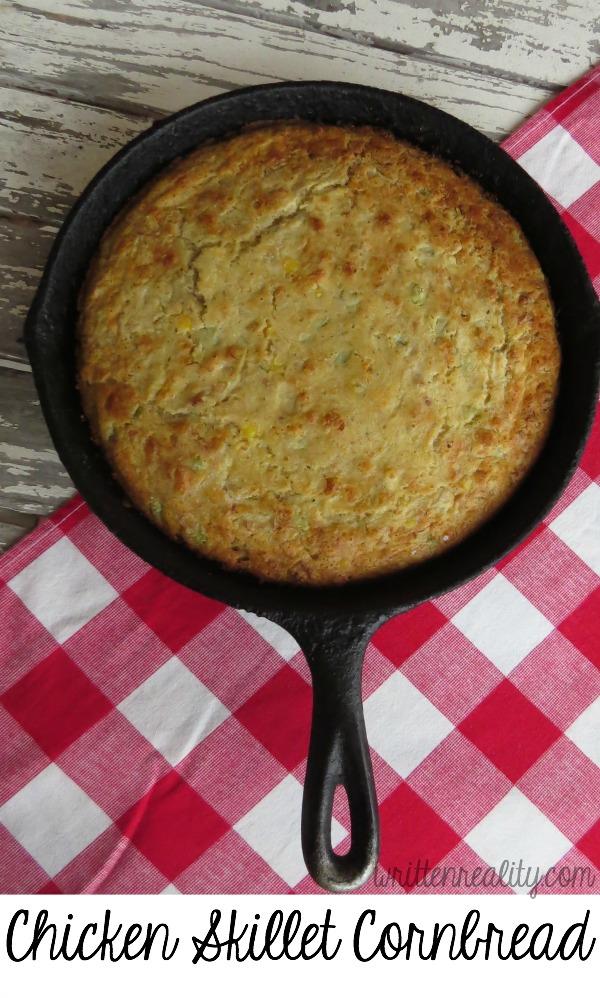 Chicken Skillet Cornbread