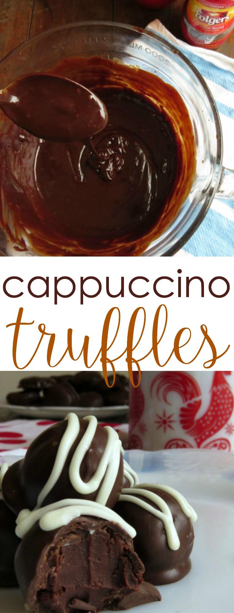 Cappuccino Truffles - Written Reality