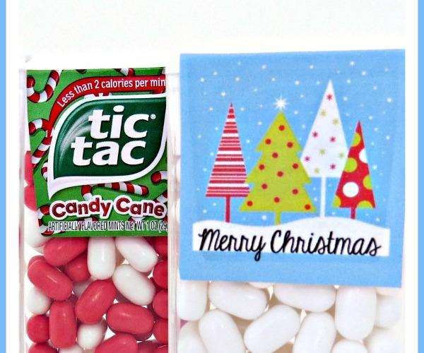 Christmas Tic Tac Wraps