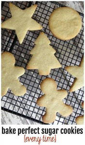 How to Bake Sugar Cookies with NO MESS