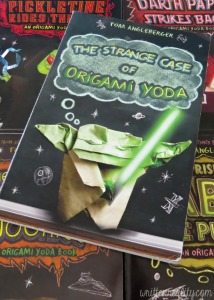 Boys love to read The Origami Yoda Series