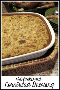 Traditional Cornbread Dressing Recipe