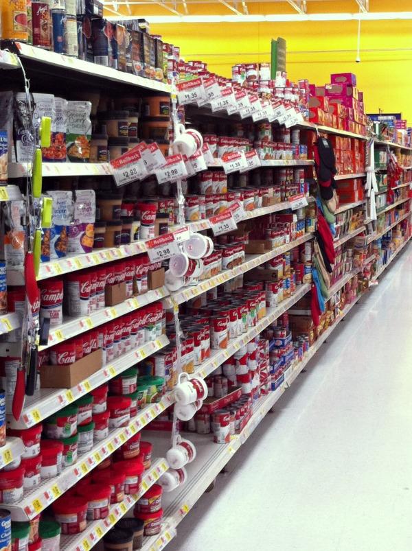 soup aisle