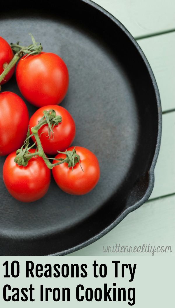 10 Reasons to Try Cast Iron Cooking