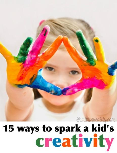 15 Ways to Spark Kid Creativity