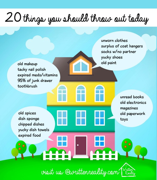 20 Things You Should Throw Out Today