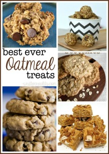 10 Delicious Oatmeal Treat Recipes