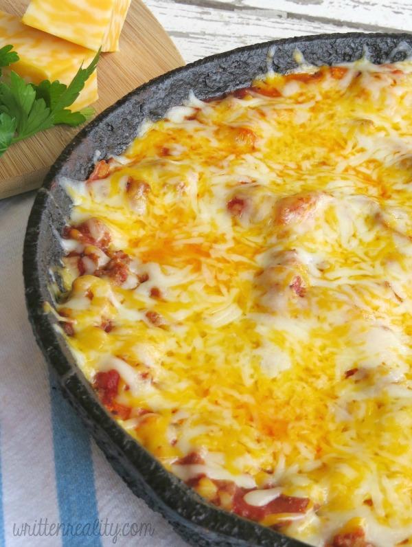 Cheesy Skillet Lasagna