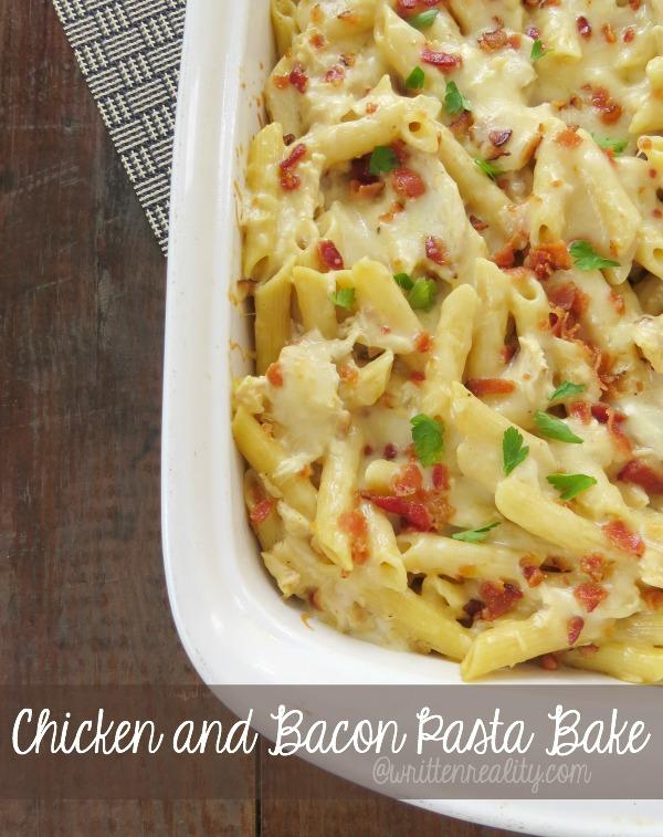 Chicken Bacon Pasta Bake