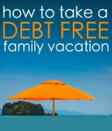 debt free vacation