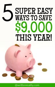 5 Ways to Spend Less and Save More