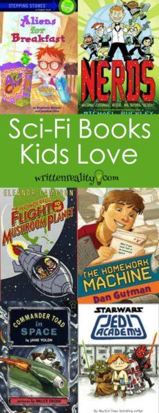 sci-fi kid books