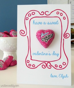 Sweetheart Valentine Card Printable