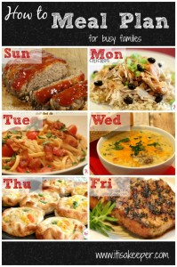Meal Planning for Busy Families