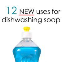 dishwashing liquid uses