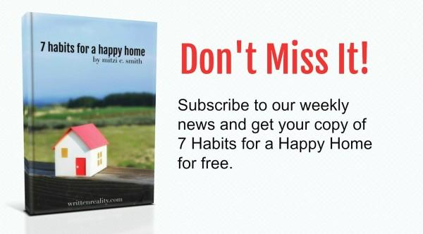 habits home sidebar