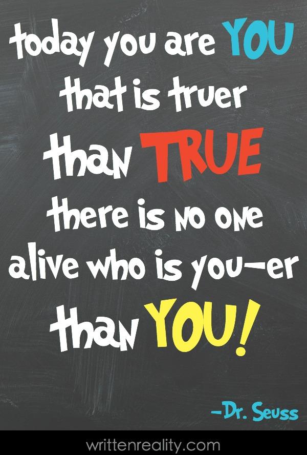 favorite Dr. Seuss quote