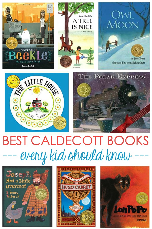 best caldecott books