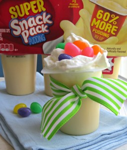 Easter Snack Pack Pudding