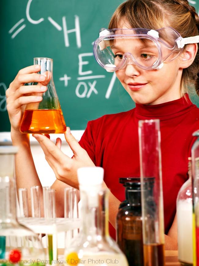 kids explore science