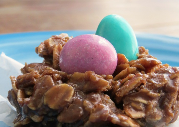 Easy No Bake Easter Cookies