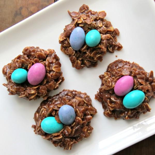No-Bake Easter Cookies