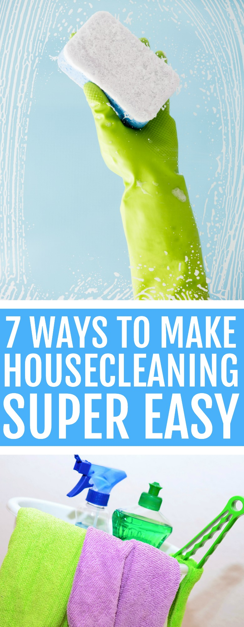 housecleaning easy