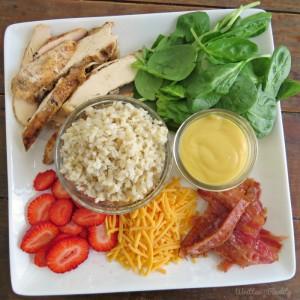 Honey Mustard Chicken Wraps recipe