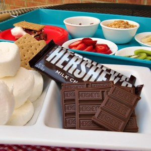 Build Your Own S'Mores Bar!