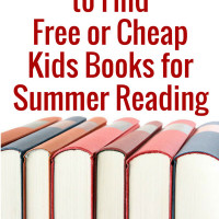 Find free or cheap books for kids to use for summer reading. Great resources to use to find the books kids want. Covers ebooks and physical books.