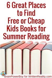 6 Great Places to Find Free or Cheap Kids Books for Summer Reading