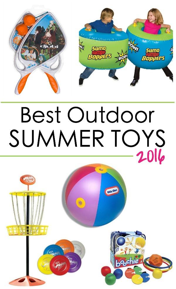 best outdoor summer toys