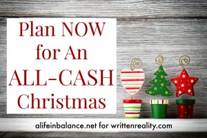 Plan NOW for an ALL CASH Christmas